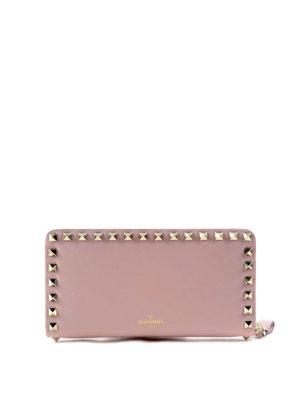 Valentino Garavani: wallets & purses - Rockstud leather wallet