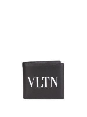 VALENTINO GARAVANI: portafogli - Portafoglio VLTN in pelle