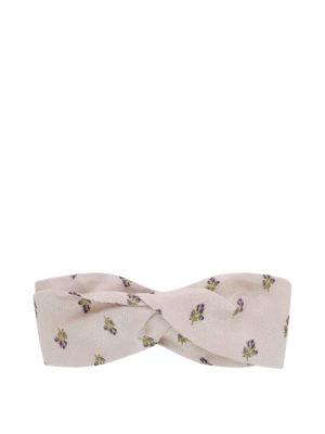 VALENTINO: accessori per capelli - Fascia per capelli a piccoli fiori