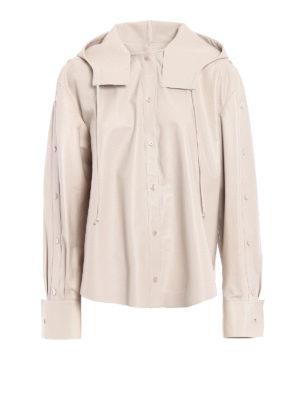 Valentino: leather jacket - Soft leather shirt style jacket