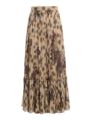Valentino: Long skirts - Boho inspired cotton maxi skirt