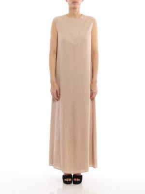 Valentino: maxi dresses online - Straight line design silk dress