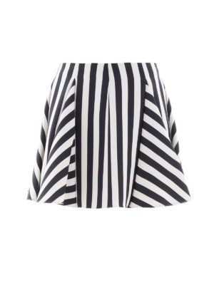 VALENTINO: minigonne - Minigonna Stripes Re-edition a righe