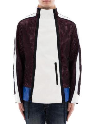 VALENTINO: giacche casual online - Giacca a vento a blocchi di colore
