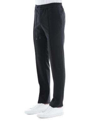 VALENTINO: pantaloni casual online - Pantaloni in lana e mohair con coulisse