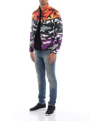 VALENTINO: giacche imbottite online - Piumino Camoushuffle reversibile