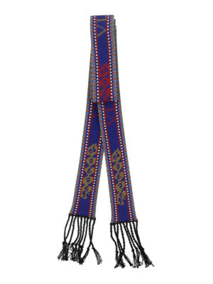VALENTINO: sciarpe e foulard online - Scarf bandeau con frange in maglia