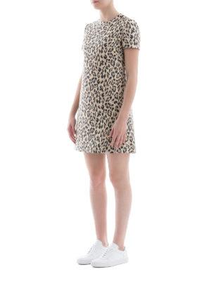 VALENTINO: abiti corti online - Abito Wild Leopard in broccato