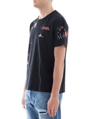 VALENTINO: t-shirt online - T-shirt con stampa Videogames Arcade