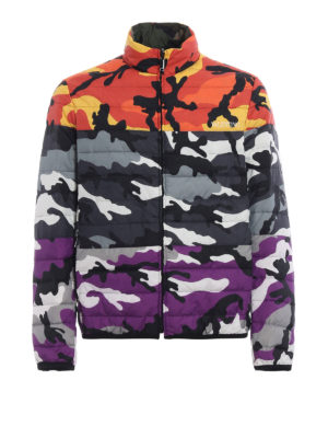 VALENTINO: giacche imbottite - Piumino Camoushuffle reversibile