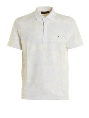 Valentino: polo shirts - Camouflage print polo shirt