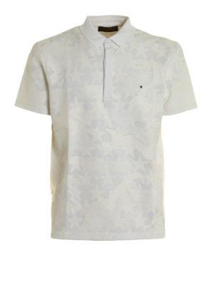 Valentino: polo shirts - Camustars print polo shirt