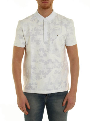 Valentino: polo shirts online - Camustars print polo shirt