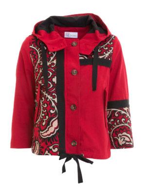 VALENTINO RED: giacche casual - Giacca corta con cappuccio
