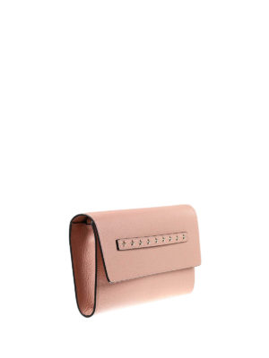 Valentino Red: clutches online - Stars detail leather clutch
