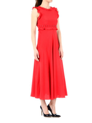 Valentino Red: cocktail dresses online - Studs and bow detailed dress