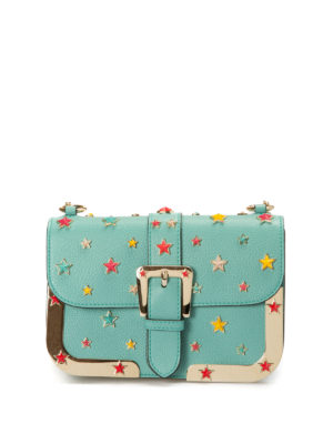Valentino Red: cross body bags - Star applications leather crossbody