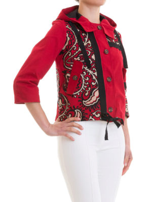 VALENTINO RED: giacche casual online - Giacca corta con cappuccio