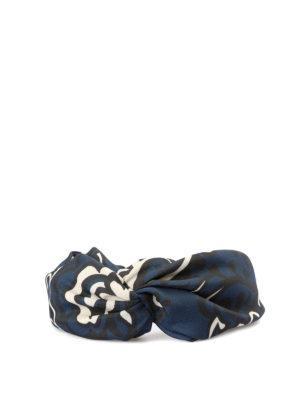 VALENTINO RED: accessori per capelli online - Cerchietto fantasia arricciato