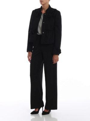 VALENTINO RED: giacche sartoriali online - Giacca corta bon ton con fiocchi