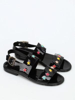 Valentino Red: sandals online - Star studded sandals