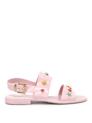 Valentino Red: sandals - Star studded sandals