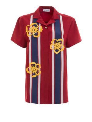 Valentino Red: shirts - Short sleeve cotton shirt