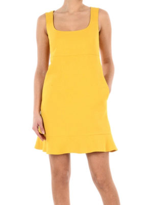 Valentino Red: short dresses online - Breezy dress with flounced hem