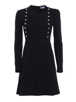 Valentino Red: short dresses - Viscose blend jersey dress