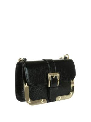 Valentino Red: shoulder bags online - Star detail leather bag