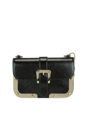 Valentino Red: shoulder bags - Star detail leather bag