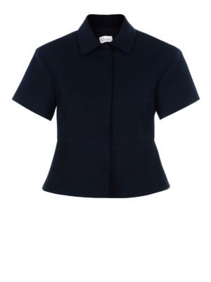 Valentino Red: Tailored & Dinner - Cotton blend crop jacket