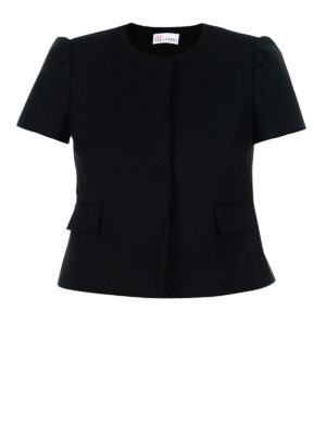 Valentino Red: Tailored & Dinner - Cotton formal crop jacket