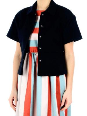 Valentino Red: Tailored & Dinner online - Cotton blend crop jacket