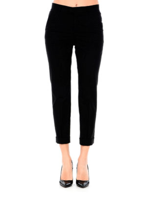 Valentino Red: Tailored & Formal trousers online - Cotton formal crop trousers