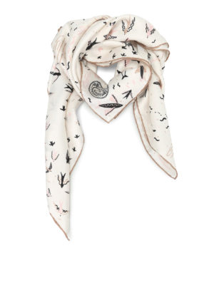 Valentino: scarves - Garden Of Earthly Delights foulard