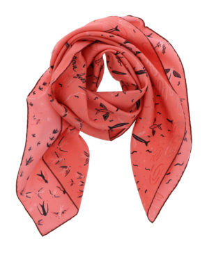 Valentino: scarves - Garden Of Earthly Delights shawl