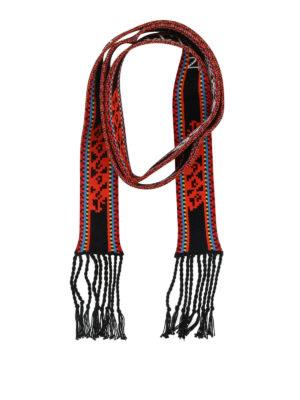 VALENTINO: sciarpe e foulard - Scarf bandeau con frange in maglia