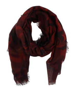 VALENTINO: sciarpe e foulard - Sciarpa in misto seta Love Blade