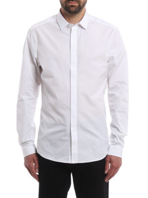 Valentino: shirts online - Cotton poplin classic shirt