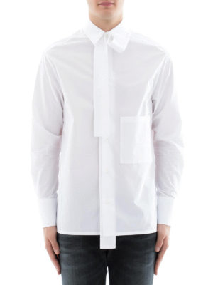 Valentino: shirts online - Cotton shirt with patch pocket
