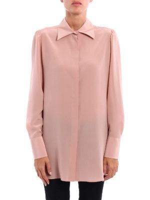 Valentino: shirts online - Silk long shirt