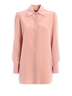 Valentino: shirts - Silk long shirt