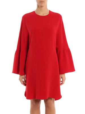Valentino: short dresses online - Silk cady short dress