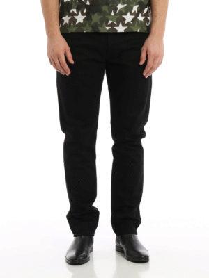 Valentino: straight leg jeans online - 06. Rockstud Untitled jeans