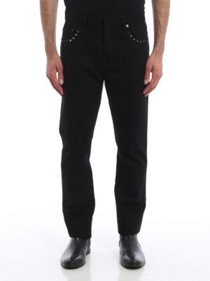 Valentino: straight leg jeans online - 06. Rockstud Untitled jeans