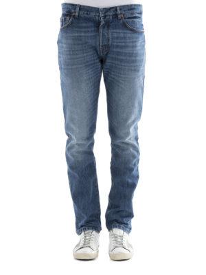 Valentino: straight leg jeans online - Rockstud jeans