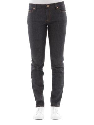 Valentino: straight leg jeans online - Rockstud Untitled jeans