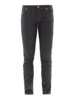 Valentino: straight leg jeans - Rockstud Untitled jeans