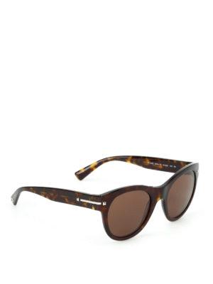 Valentino: sunglasses - Tortoiseshell acetate sunglasses
